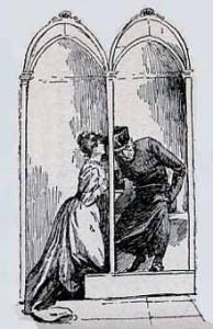 Confessione donna (stampa Ottocento)