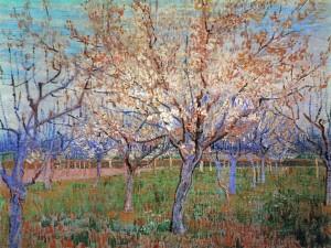 dipinto di Vah Gogh:Primavera